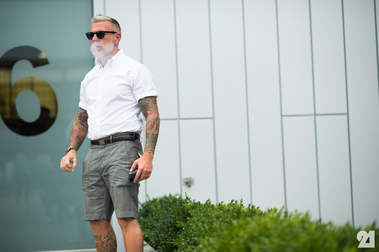Nick-Wooster white shirt