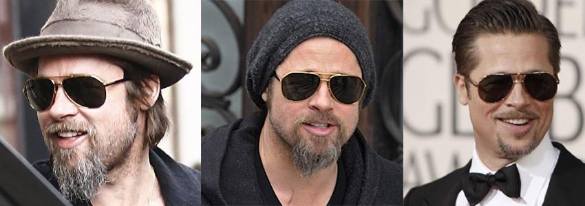 Brad pitt dolce&gabbana sunglasses 2129
